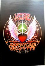 MORE AMERICAN GRAFFITTI POSTER Mouse & Kelley Design 1979