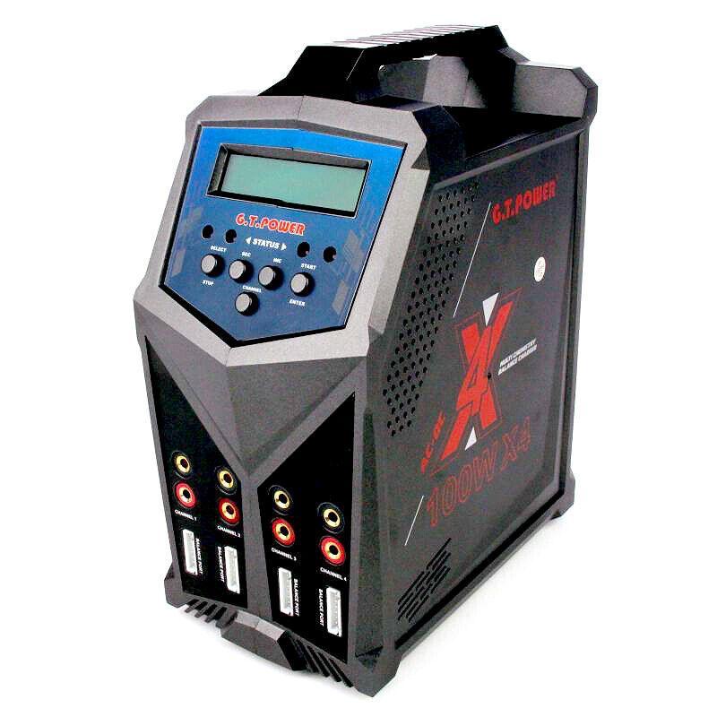 X4 Pro Quad GT Power AC DC cargador inteligente 4 x salida de 100W