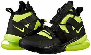 Detalles acerca de Nike Force 270 utilidad para hombre Air Entrenamiento Calzado AQ0572 001 Negro Volt Nuevo En Caja $175 mostrar título original