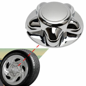 """Deluxe Chrome Wheel Hub Cap Center Cap With 7/"""" Cap For 97-03 F150 /& Expedition"""