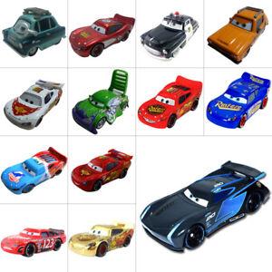 Pixar-Cars-Jackson-Storm-McQueen-FillMore-1-55-Giocattolo-modello-di-auto