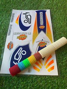 Cricket Bat Stickers Embossed {KLR ULTIMATE}
