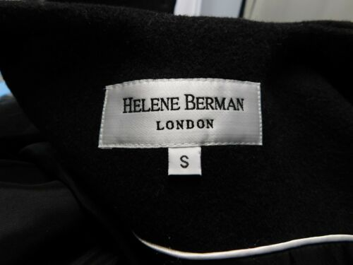 Svart 8177 Helene Ermeløs Lomme Vest Patch Blend Berman 190089159437 Ull London Liten w7xw4fAq8