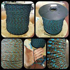 Driza corde tressée cordage 3.5mm x 200 mètres pour bracelets porte-clés