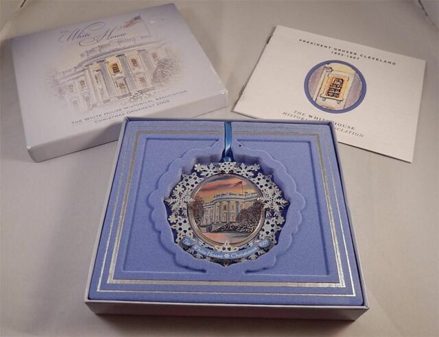 2009 White House Christmas Ornament - NEW IN THE BOX ...