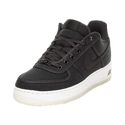 Nike Air Force 1 Low Retro QS Canvas Black Af1 Men's Shoes Ah1067 004 Size 11.5