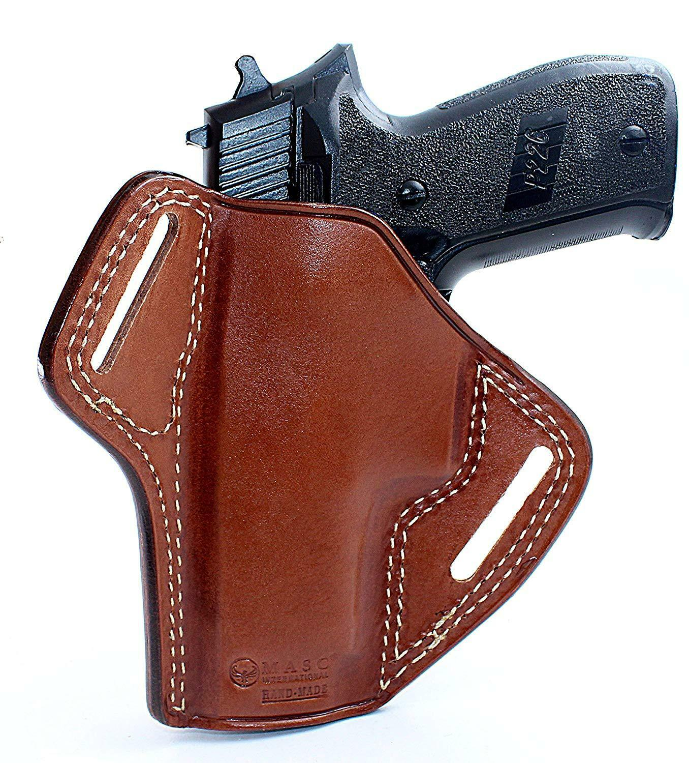 Leder Pancake Holster Fits Sig P220 45 ACP With Rail 1326 4.4'' Barrel  1326 Rail  1d0337