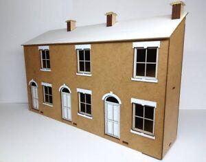 Terraced-House-Kit-Laser-Cut-Scratch-Aid-Layout-Kit-O-Gauge-7mm-Model-Railway