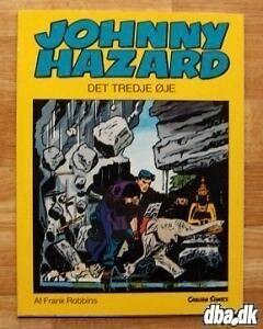 Johnny Hazard, Tegneserie