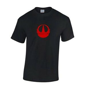STAR-WARS-ROGUE-ONE-MOVIE-SCI-FI-T-SHIRT-Red-Black-or-White-S-2XL