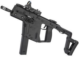 airsoft gun krytac kriss vector pdw aeg rifle 350 fps metal black rh ebay com