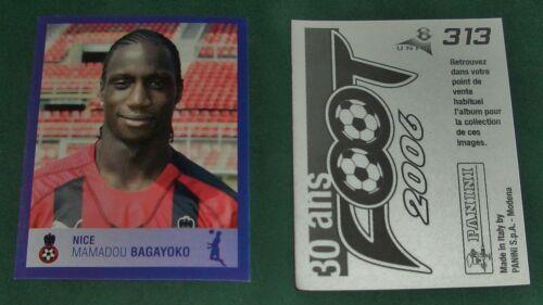 Au Choix OGCN Stickers Panini Football 2006 Nice
