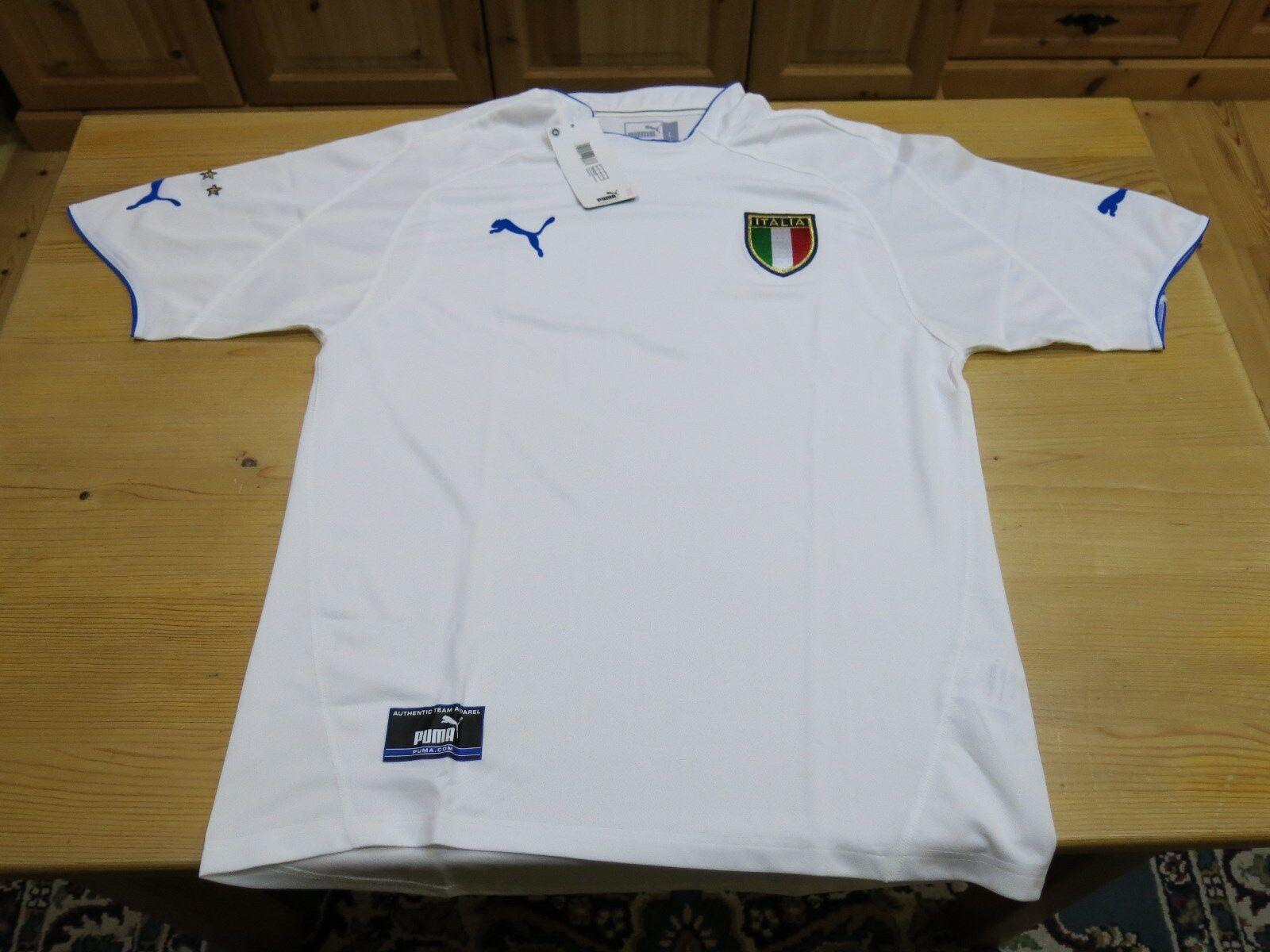 Original Puma Italien Jahr Fußball AuswärtsTrikot/Jersey Jahr Italien 2003/04 Gr. L 620c27