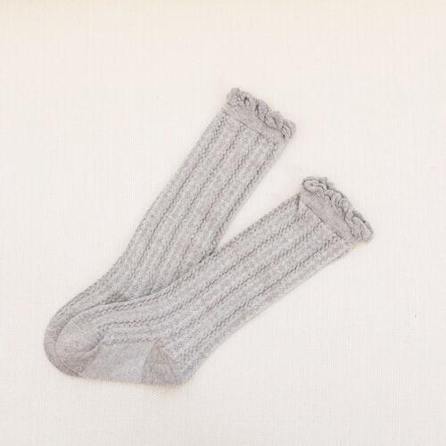 2017 Newborn Baby Toddler knee high sock baby Girls Boys Solid Long Socks SP