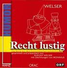 Recht lustig von Rudolf Welser (2001, Kunststoffeinband)