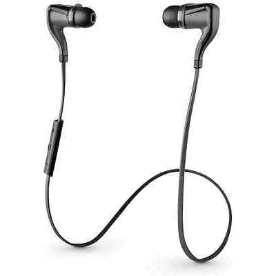 Plantronics BackBeat Go 2 Bluetooth Headset Black BULK for iPhone 6 6S Samsung
