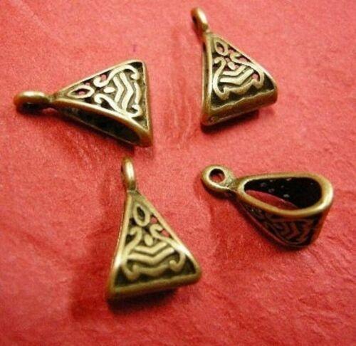 10pc antique metal fancy hanger links-pls pick a color