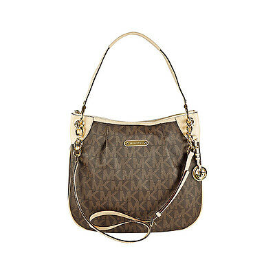 Michael Kors Bedford Large Convertible Shoulder Bag in Brown