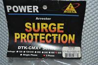 One Ditek Surge Suppressor Dtk-600-3cmx Plus