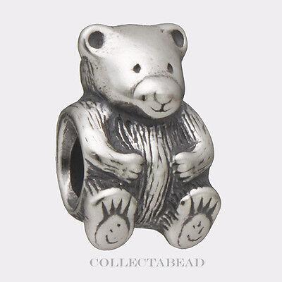 Authentic Pandora Sterling Silver Teddy Bear Bead
