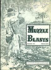 MUZZLE BLASTS December 1975 rifle fan magazine