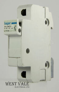 hager fuse box search for wiring diagrams \u2022 Circuit Breaker Box hager 113 00 5 x 22mm 5 amp cartridge fuse holder used ebay rh ebay ie hager fuse box instructions hager fuse box problems