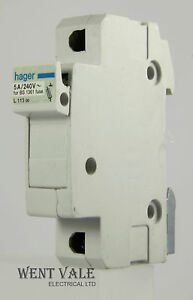 hager fuse box search for wiring diagrams \u2022 Car Fuse Box hager 113 00 5 x 22mm 5 amp cartridge fuse holder used ebay rh ebay ie hager fuse box instructions hager fuse box problems