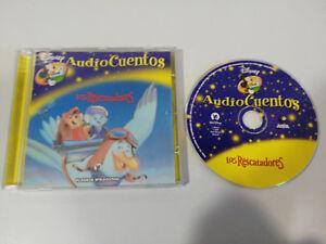 LOS-RESCATADORES-NO-LLORES-PEQUENA-CD-AUDIO-CUENTOS-WALT-DISNEY-2006