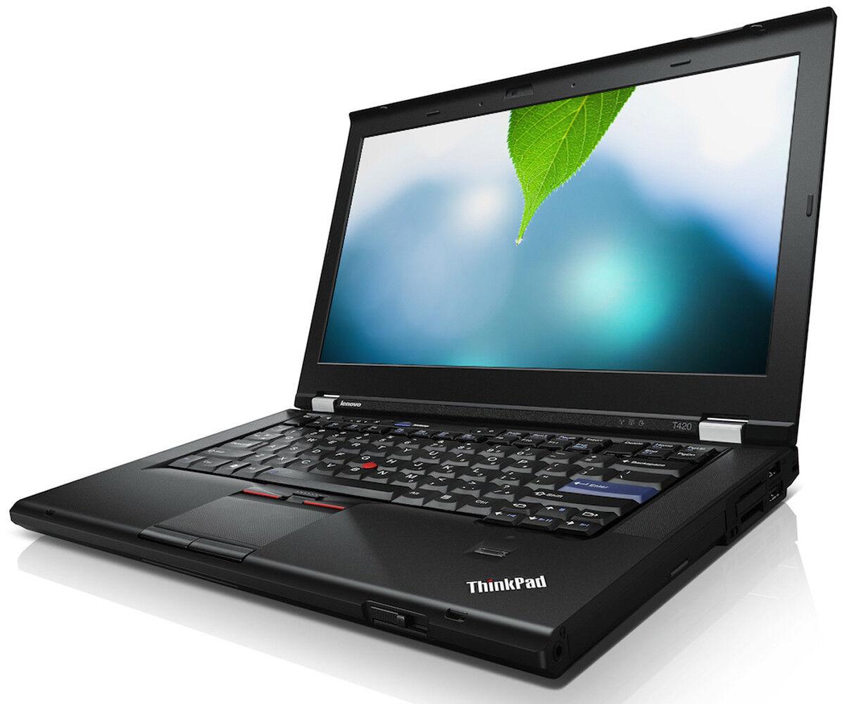 Fast Lenovo T420 Core i5 8GB 320GB Windows 10 Pro Thinkpad Laptop WiFi  WebCam