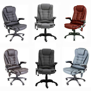 Neo Executive Gaming Computer Desk Office Swivel Recliner Massage Chair Ebay