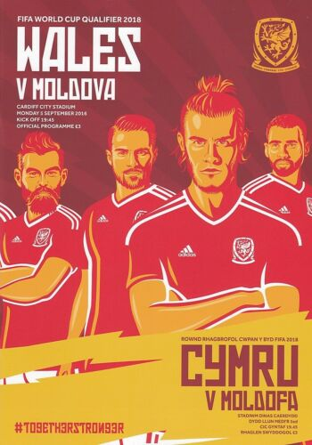 2016 WALES v MOLDOVA WORLD CUP QUALIFIER 5th September 2016