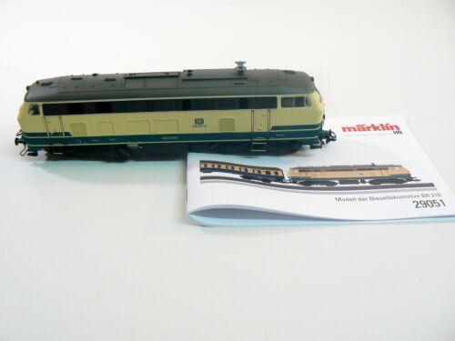 digital Diesellok BR 218 DB mfx Märklin H0 aus 29051 sound