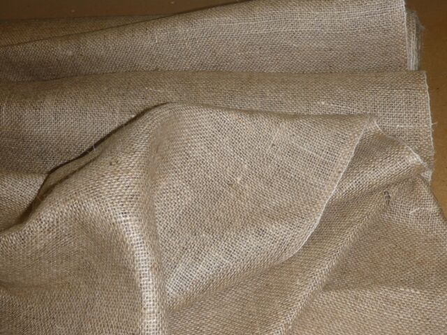 Hessian For Making A Rag Rug 2 Meters