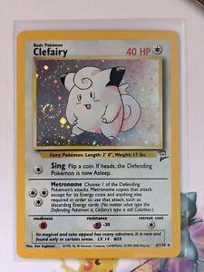 Clefairy-Holo-Excellent-Base-Set-2-6-102-Pokemon-English