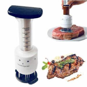 Marinade-viande-injecteur-aiguille-en-acier-inoxydable-alimentaire-sauces-Attendrisseur-cuisine-Kit