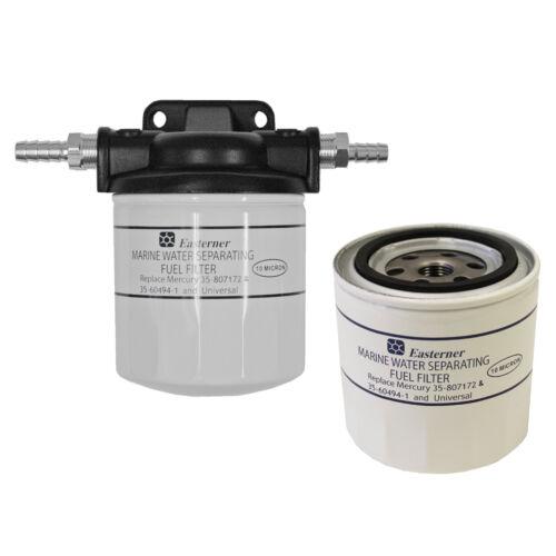Benzinfilter m Wasserabscheider Patrone Ersatzpatrone f Mercury Filter 9,5mm