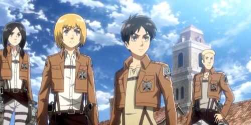 Attack On Titan Shingeki No Kyojin Anime Key Necklace US Seller