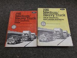 1981 ford ln600 ln700 ln800 c600 c700 c800 ct8000 truck service rh ebay com