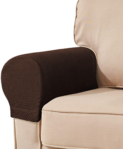Furniture Protector Sofa Arm Rest Covers Recliner Stretch Slipcover Anti Slip