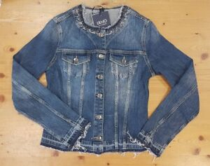 0b372a74efdd7 Giacca PRESTIGE donna LIU JO in jeans giubbotto jacket giacche denim ...