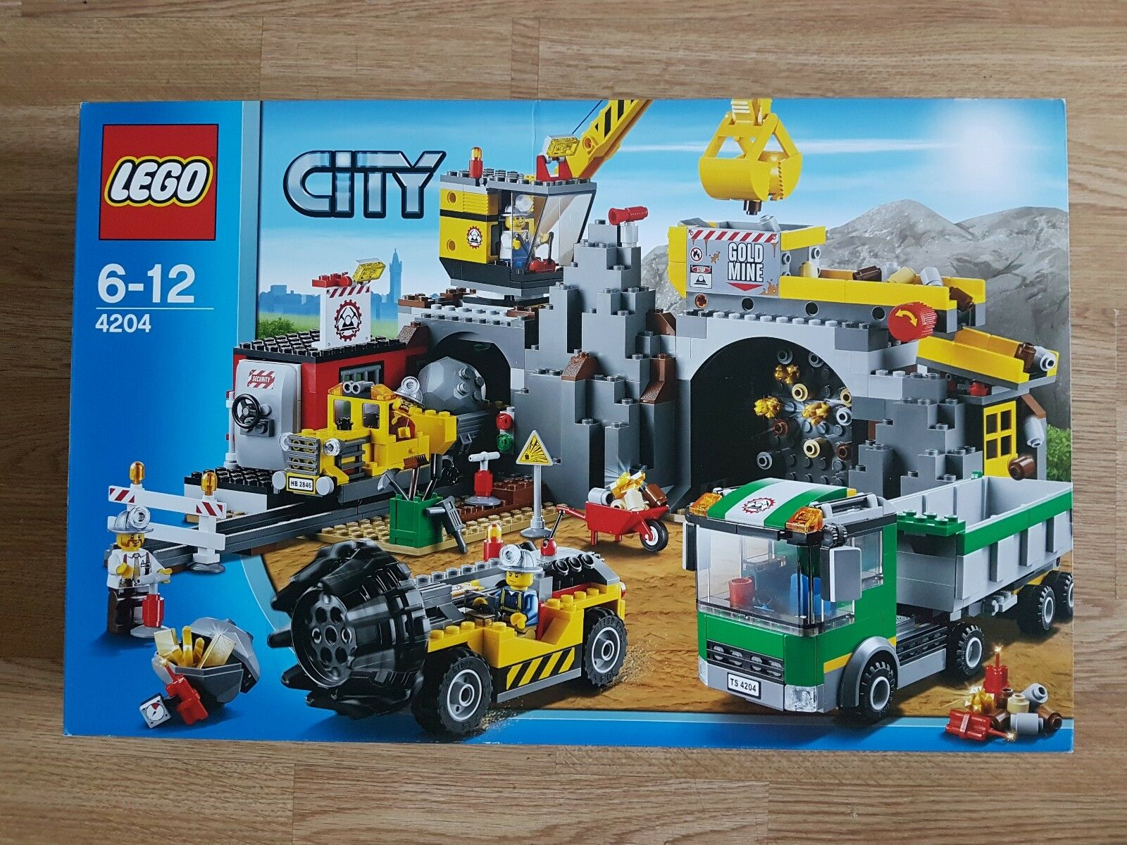 rivenditore di fitness LEGO città  la MINIERA MINIERA MINIERA (4204) BNISB  alta qualità generale