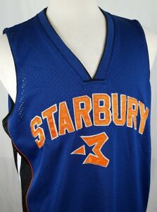 d165f65a3 VTG Starbury Stephon Marbury  3 Basketball Jersey Blue Sewn New York ...