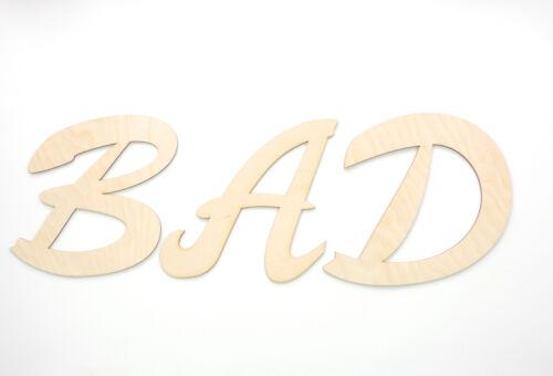 Bagno e WC SCUDO SCUDO wc legno lettere 10cm incise lettere in legno