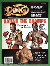 #BB.  THE RING BOXING MAGAZINE, OCTOBER 1994