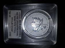 2012 Canada $5 PCGS Certified SP Gem 1oz. Silver Maple Leaf (Titanic Privy Mark)