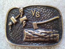 Varsity Scout Wood Badge Bronze Belt Buckle