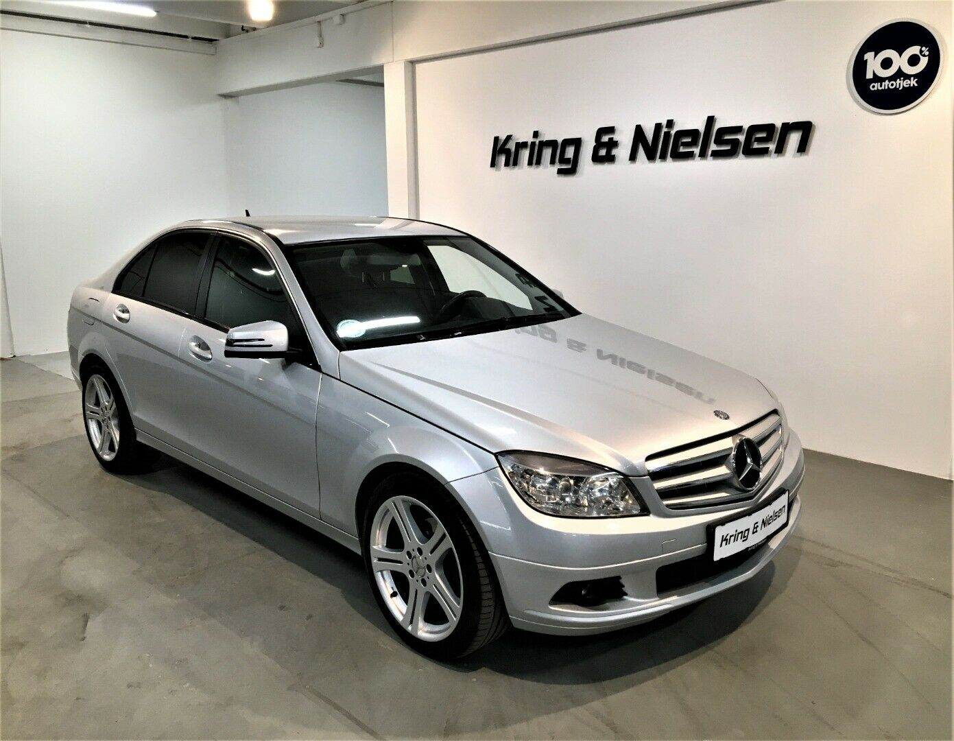 Mercedes C200 2,2 CDi BE 4d - 129.995 kr.