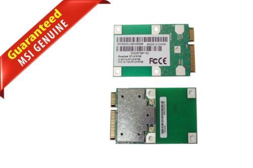 Lot of 2 MSI U100 MS-N011 802.11 b//g PCI-E Wireless Network Card RTL8187SE