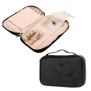 Travel-Jewellery-Case-Organiser-Bag-Earing-Bag-Necklace-Storage-M-amp-W