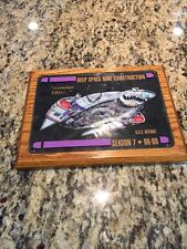 star trek cast and crew plaque  ds 9 deep space 9  7th